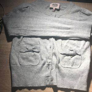 Juicy Couture little girl long sleeves sweater